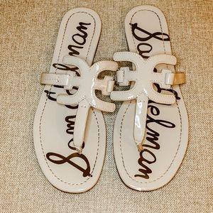 Sam Edelman Women's Carter Flat Sandal 9.5; VGUC